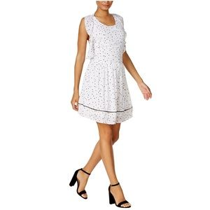 NWT Maison Jules Printed A-Line Fit & Flare Dress